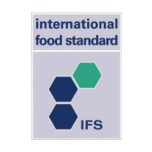 Processo produttivo certificato da DNV in base all'International Food Standard